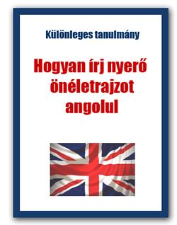 angol önéletrajz